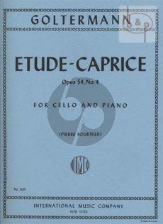 Etude-Caprice Op.54 No.4