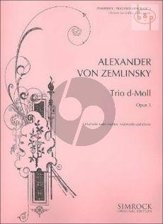 Zemlinsky Trio d-minor Op.3 Clar.[Bb])[Violin]-Violoncello-Piano
