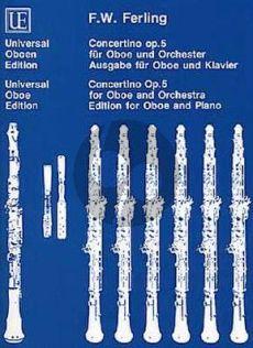 Ferling Concertino Op.5 Oboe-Klavier (Durek-Joppig)