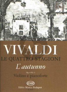Concerto Op.8 No.3 (RV 293) (L'Autunno) (4 Seasons)