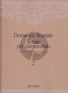 Scarlatti Sonate per Clavicembalo Vol.2