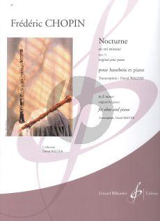 Chopin Nocturne e-minor Op.72 Oboe-Piano (arr. David Walter)