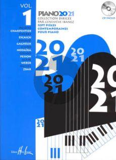Piano 20-21 Vol.1 (Bk-Cd) (Ibanez) (Grade 3)