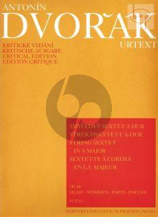 Sextet A-major Op.48 (2 Vi.- 2 Va.- 2 Vc.) (Parts)