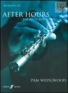 Wedgwood After Hours Flute-Piano (Bk-Cd) (Full Performance and Accomp.CD)