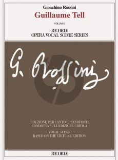 Rossini Guillaume Tell Vocal Score (3 Vols) (fr.) (edited by M.Elizabeth C.Bartlet)