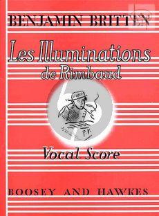 Les Illuminations Op.18 (Poems Arthur Rimbaud)