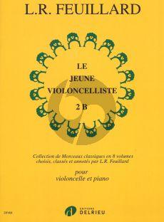 Feuillard Le Jeune Violoncelliste vol.2B (Collection de Morceaux Classiques)