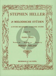 Heller 25 Melodic Studies Op.45 (H. Nieland)
