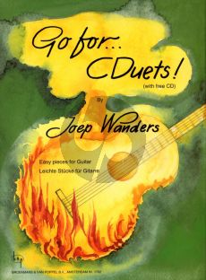 Wanders Go for...CDuets Guitar (Bk-Cd) (Easy Duets) (Grade 1 - 2)