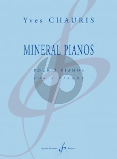 Chauris Mineral Pianos for 2 Pianos