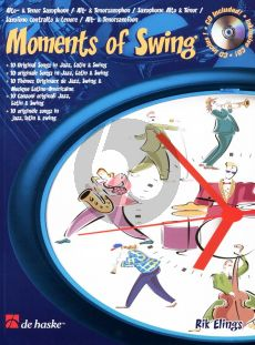 Elings Moments of Swing Alto Sax. or Tenor/Sopr. (bk-Cd) (interm.-adv.)