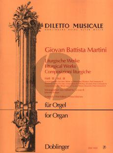 Martini Liturgische Werke Vol. 3 Orgel (Jolando Scarpa)