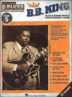 Hal Leonard Blues Play-Along Volume 5