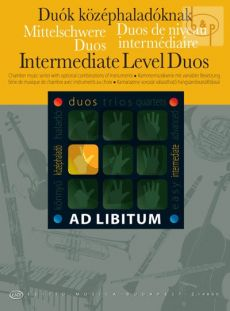 Intermediate Level Duos (in any combination)