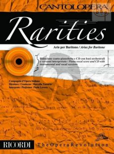 Rarities - Arias for Baritone (Voice-Piano)