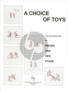 Staak A Choice of Toys (Very Easy Duets) 2 Guitars