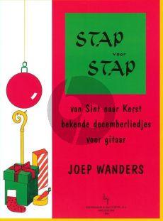 Wanders Stap voor Stap van Sint naar Kerst voor Gitaar (Grade 1)