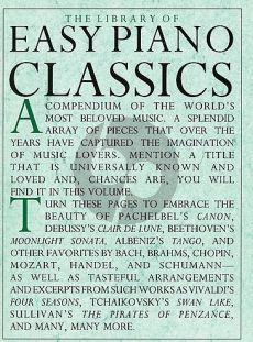 The Library of Easy Piano Classics Volume 1