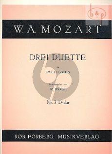 3 Duette No.3 D-dur