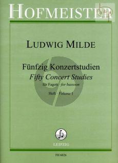 50 Konzertetuden Op.26 Vol.1