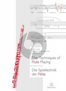 Techniques of Flute Playing / Spieltechnik der Flote