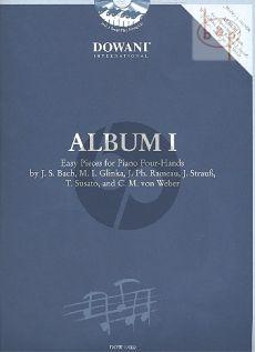 Album 1 voor Piano Vierhandig (Bk- 2 CD's)