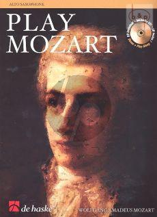 Play Mozart (Alto Sax.) (Bk-Cd) (easy-interm.)