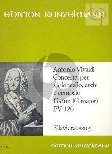 Concerto G-major (RV 120 /PV 120) (Violoncello- Str.-Bc.)