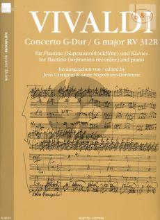 Concerto G-major RV 312R (orig. Violin)