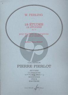 Ferling 18 Etudes Op.12 Oboe (edited by Pierre Pierlot)