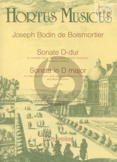 Sonate D-dur Op.37 No.3 (Flute[Ob./Vi.]- Viola da Gamba [Bsn./Vc.]-Bc)