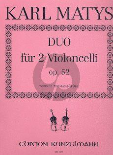 Matys Duo Op.52 2 Violoncellos (Thomas-Mifune)