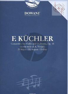 Concertino D-major Op.15 (In the Style of Vivaldi) (Violin-Piano)
