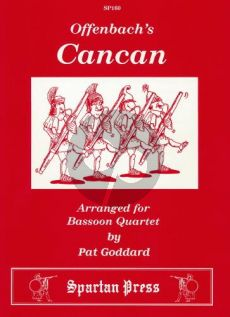 Offenbach Can Can 4 Bassoons