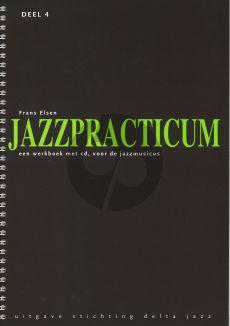 Elsen Jazzpracticum Vol.4 (Een werkboek met cd, voor de Jazzmusicus)
