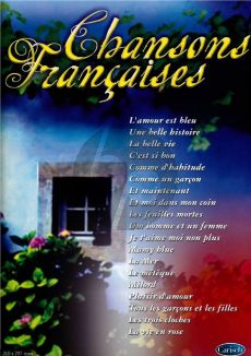Chansons Francaises (Piano-Vocal-Guitar)