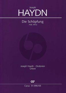 Haydn Die Schopfung Hob.XXI:2 Soli-Choir-Orchestra (Vocal Score) (German text) (Wolfgang Gersthofer)