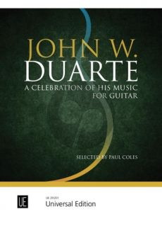 John W. Duarte - A Celebration of His Music for Guitar (selected by Paul Coles)