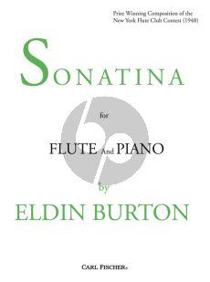 Burton Sonatina Flute-Piano