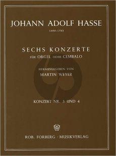 Hasse 6 Konzerte No.3 - 4 Orgel oder Cembalo (Martin Weyer)