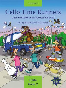 Blackwell Cello Time Runners (Bk-Cd) (A Second Book of Easy Pieces for Cello)