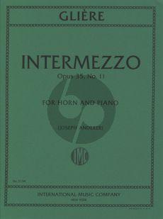 Gliere Intermezzo Op.35 No.11 (Anderer) (Horn F)