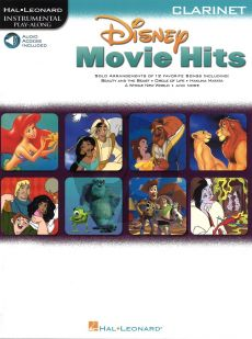 Movie Hits for Clarinet (Bk-Audio Access Code)