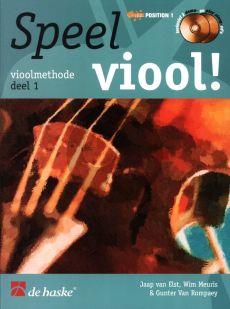 Speel Viool Vol.1 (Viool Methode) (Bk-Cd) (Position 1)