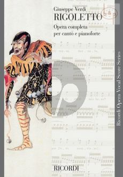 Verdi Rigoletto (Vocal Score) (it.)
