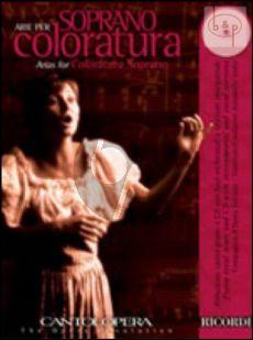 Arias for Coloratura Soprano (Voice-Piano)