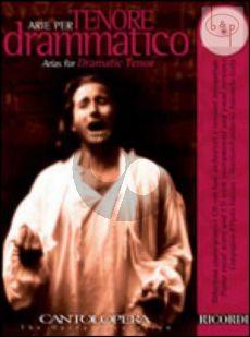 Arias for Dramatic Tenor (Voice-Piano)