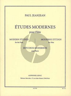 JeanJean Etudes Modernes Flute