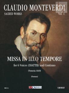 Missa in Illo Tempore (SSATTB-Continuo) (Score)